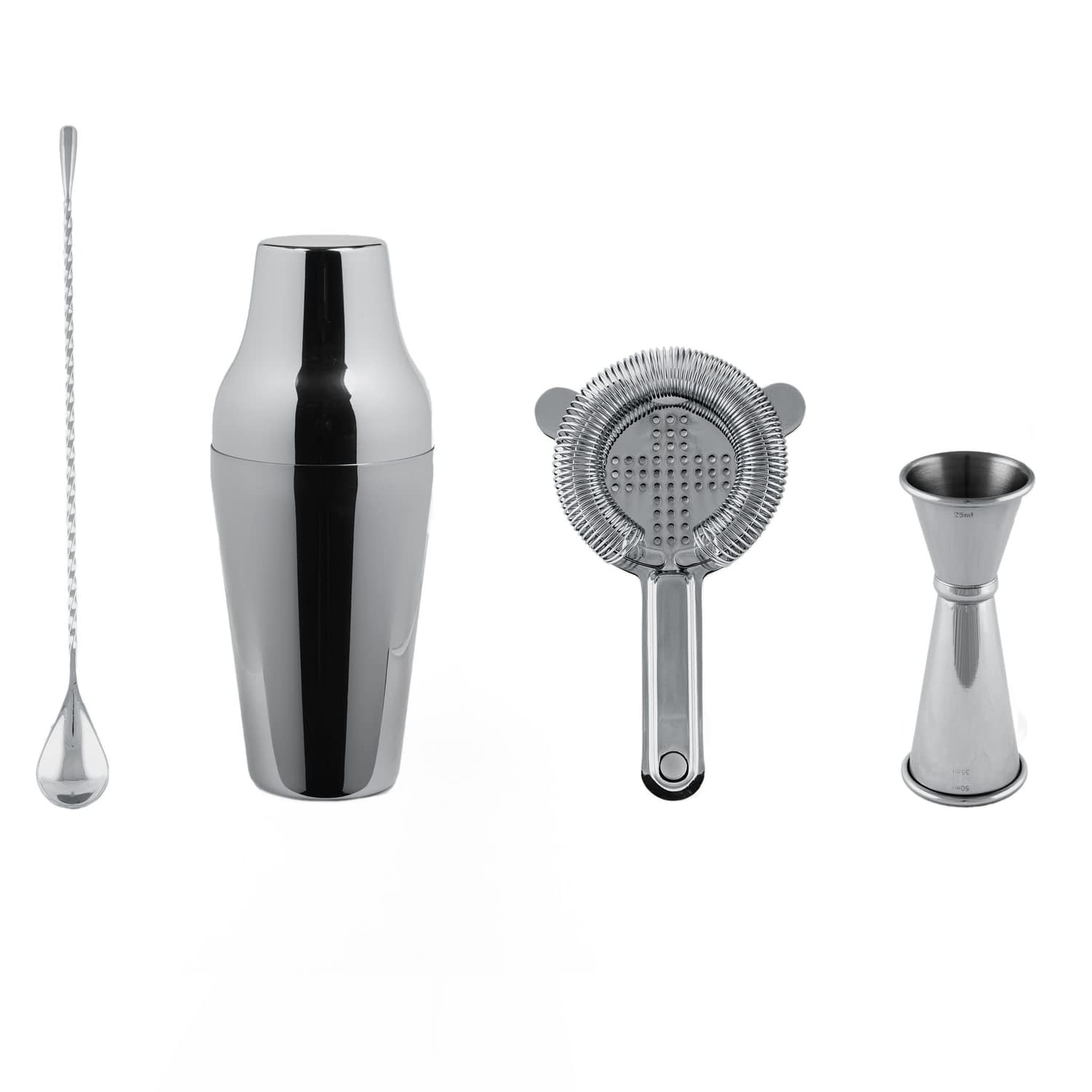 Cocktail Kit, Cocktail Shaker Set, Stainless Steel Barware, Cocktail Bar Tools, The Cocktail Shop, Australia