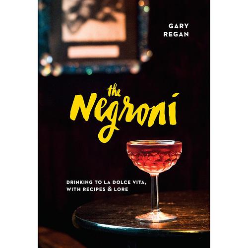The Negroni Book, Gary Regan Author, Cocktail Books, The Cocktail Shop, Australia