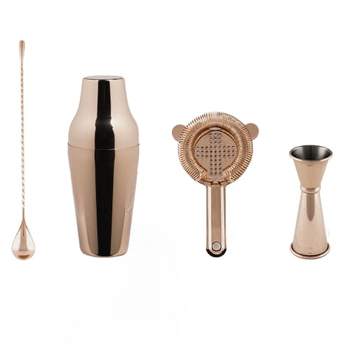 Cocktail Kit, Cocktail Shaker Set, Copper Barware, Cocktail Bar Tools, The Cocktail Shop, Australia