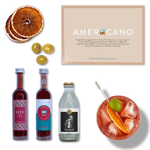 Americano Cocktail Kit, Aperitivo Spritz Cocktail Kits, Cocktails Delivered | The Cocktail Shop, Australia