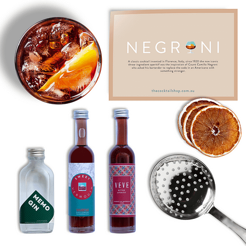 Negroni Cocktail Kit, Cocktail Kits, Cocktails Delivered | The Cocktail Shop, Australia