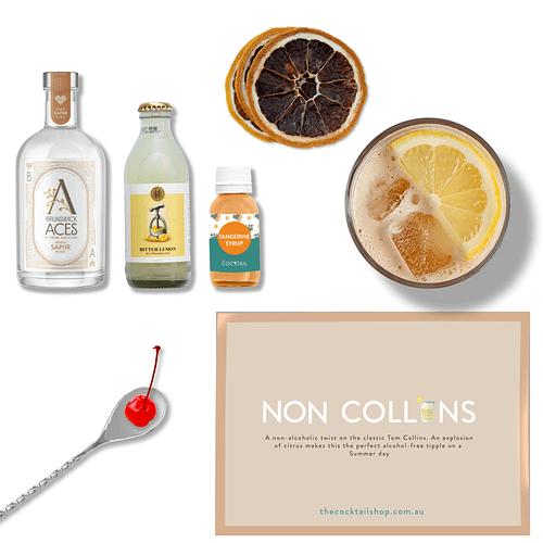 Non Collins Cocktail Kit, Non-Alcoholic Cocktail Kits, Cocktails Delivered | The Cocktail Shop, Australia