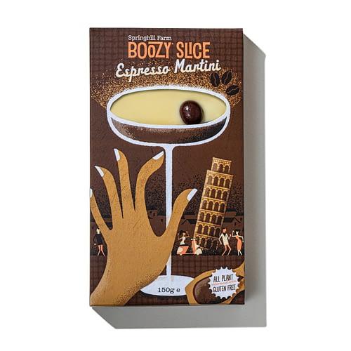 Espresso Martini Boozy Slice | The Cocktail Shop
