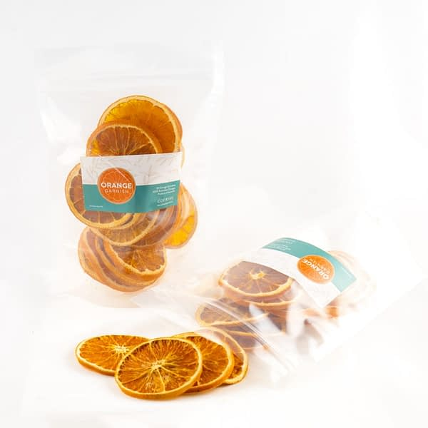 Dehydrated Orange Slices for Cocktail Garnishes, The Cocktail Shop, Australia