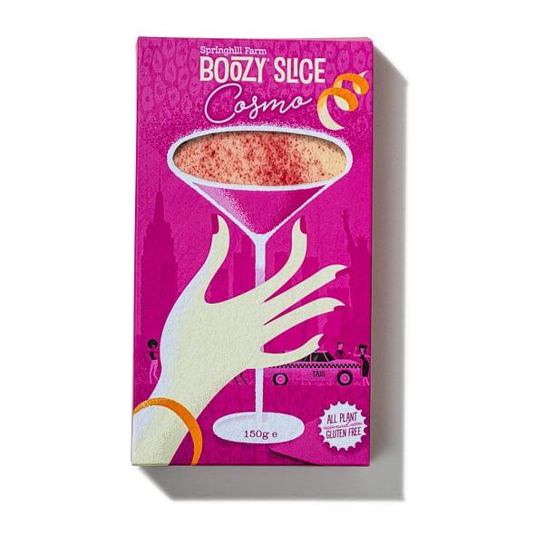 Cosmopolitan Boozy Slice | The Cocktail Shop