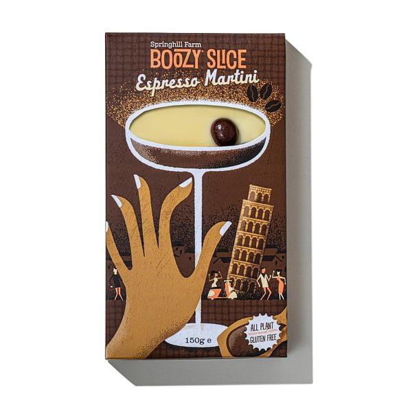 Espresso Martini Boozy Slice   The Cocktail Shop